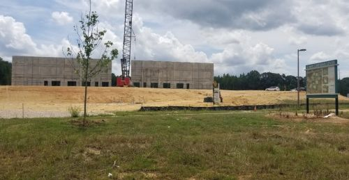 Newest Rowan Spec Building Taking Shape